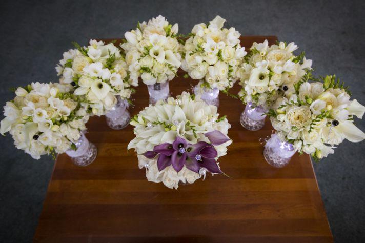Lush White Bouquets