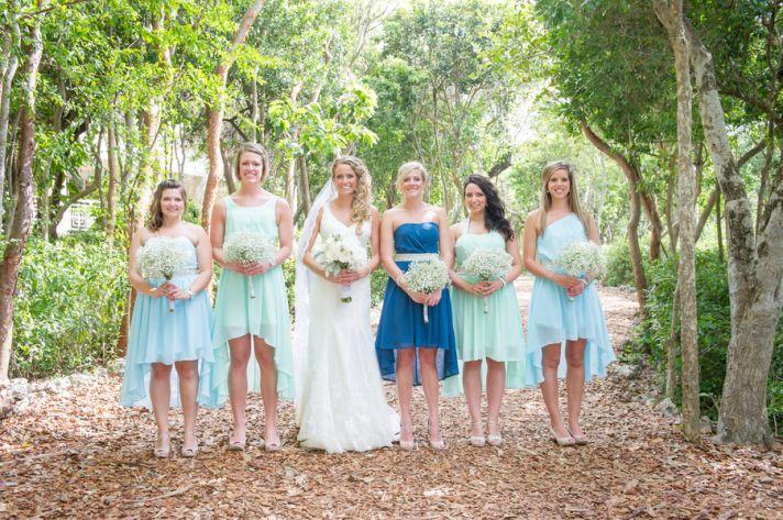 Beachy Bridal Party