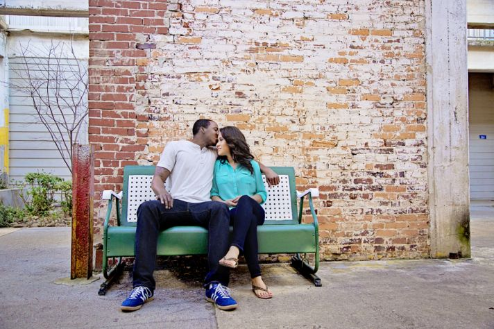Urban Engagement Kisses
