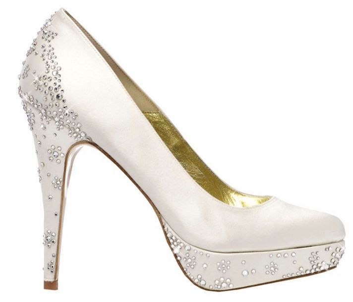 Aaleyah Bridal Shoe with Swarovski Crystals