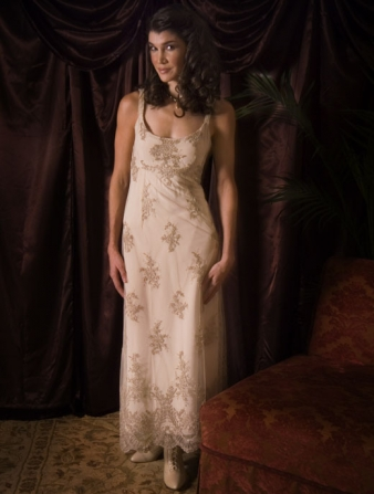 Exquisite Western and Victorian wedding dresses are main attractions of the