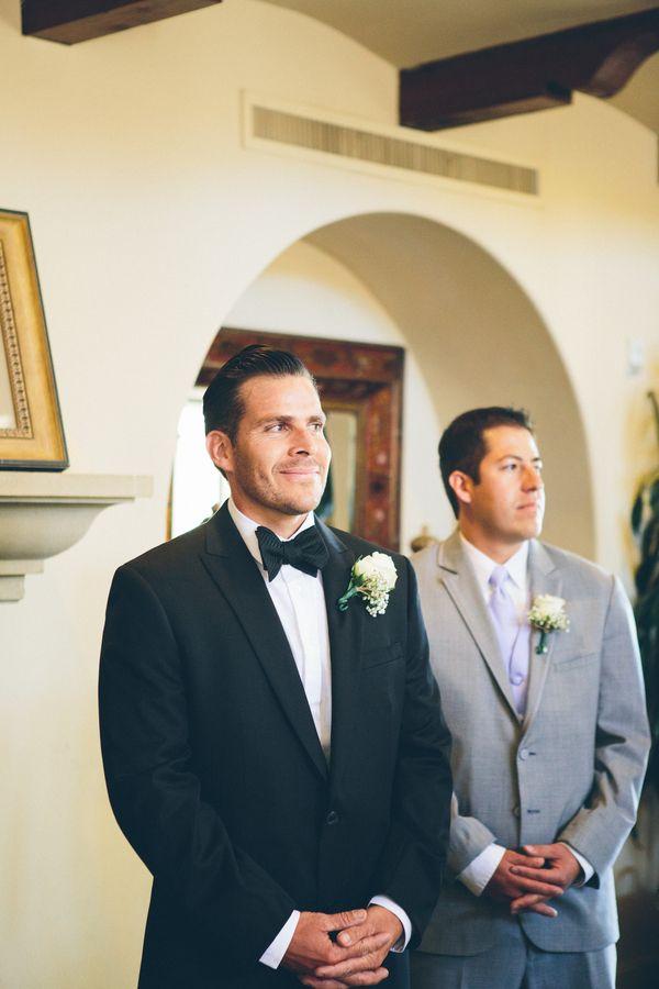 Groom Spotting His Bride
