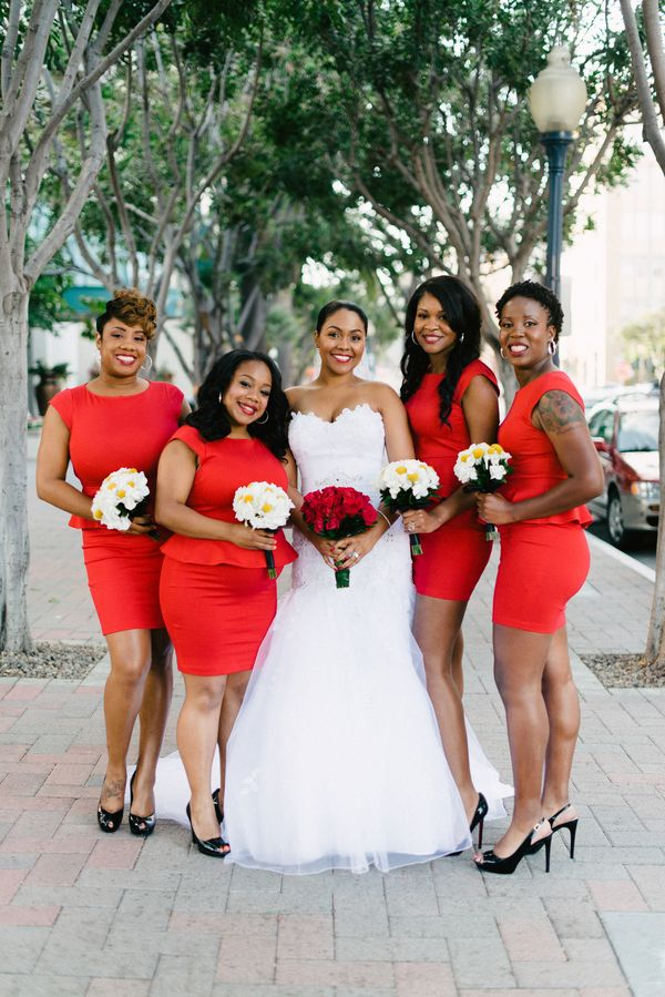 The Bride and Her Girls