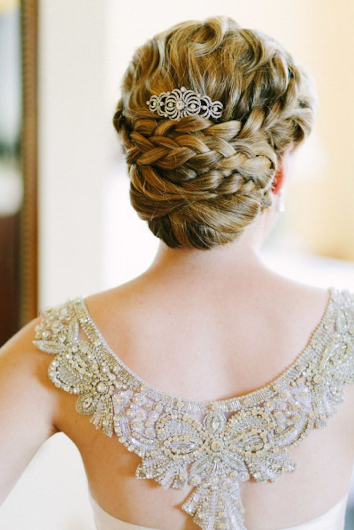 Layered Braids and Delicate Tiara