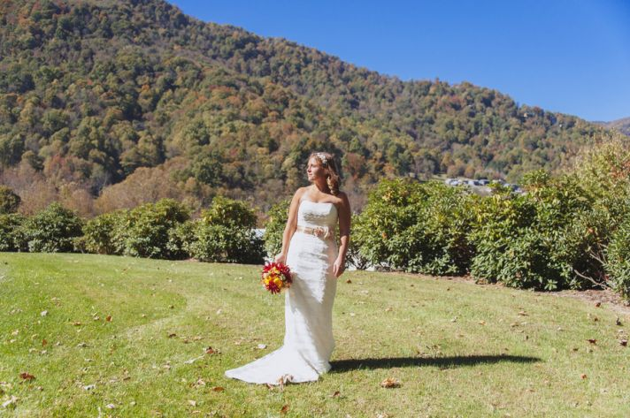 Gorgeous Autumn Bride