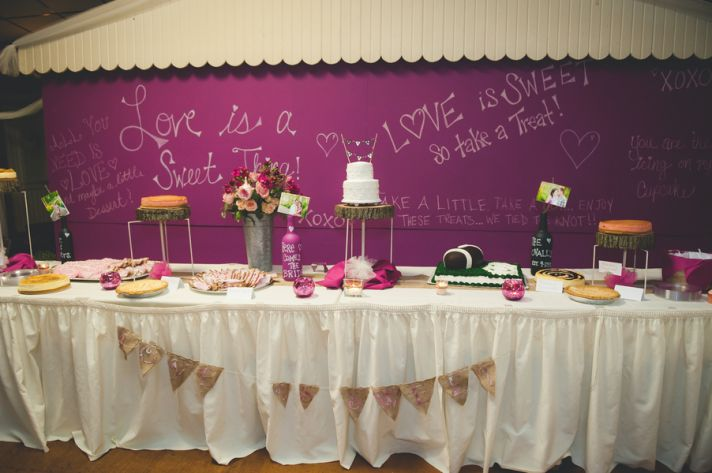 Fun Dessert Table Decor