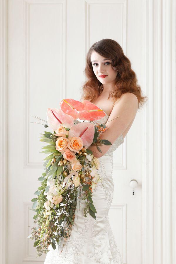 Incredibly Unique Bridal Bouquet
