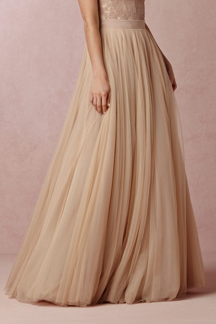 BHLDN Ashan Wedding Skirt