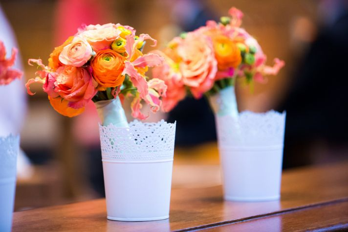 Bright and Beautiful Orange Bouquets