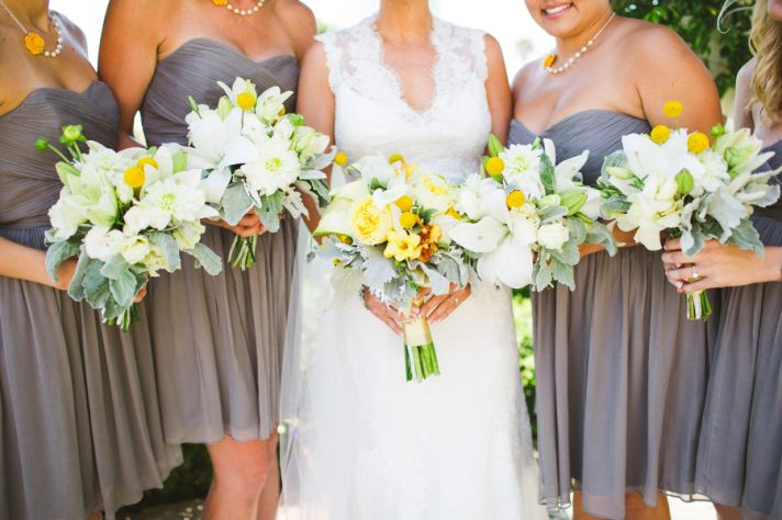 Lovely Yellow and Green Bouquets