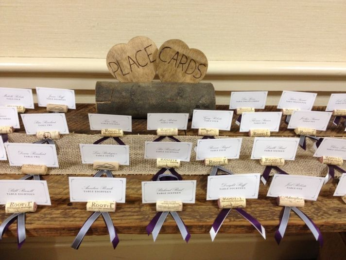 Wedding Place Card Ideas 36 Cool Cork Holders For Escort
