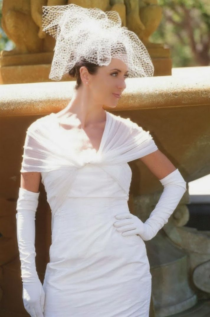 Recent wedding dresses blog posts ideas and galleries for Wedding dress with long gloves