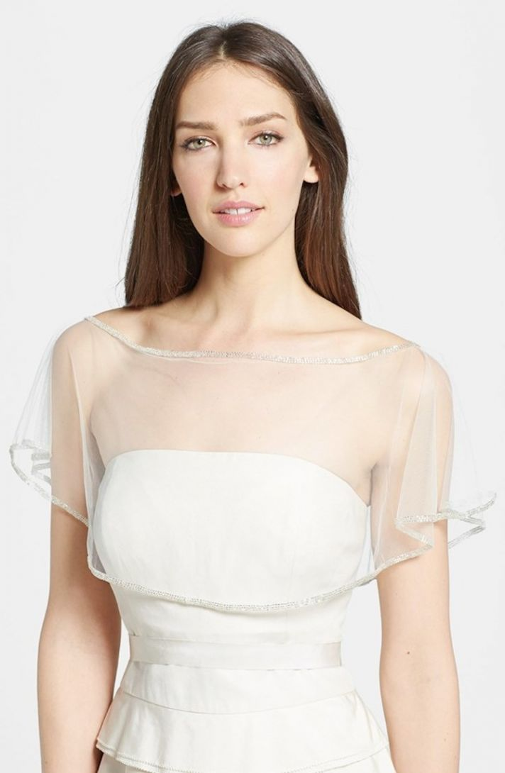 Get The Look At Any Budget: Wedding Dress Capelets & Coverups ...