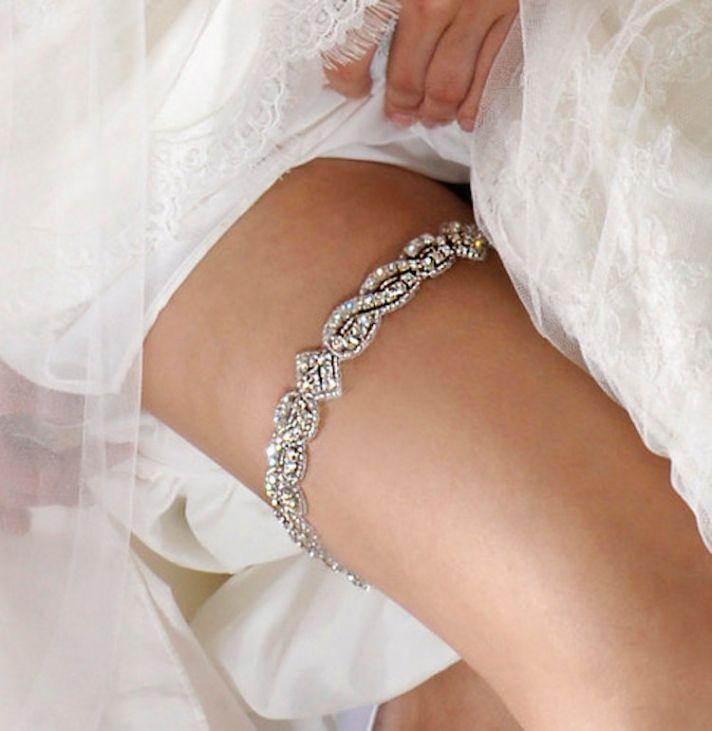 Crystal Wedding Garter