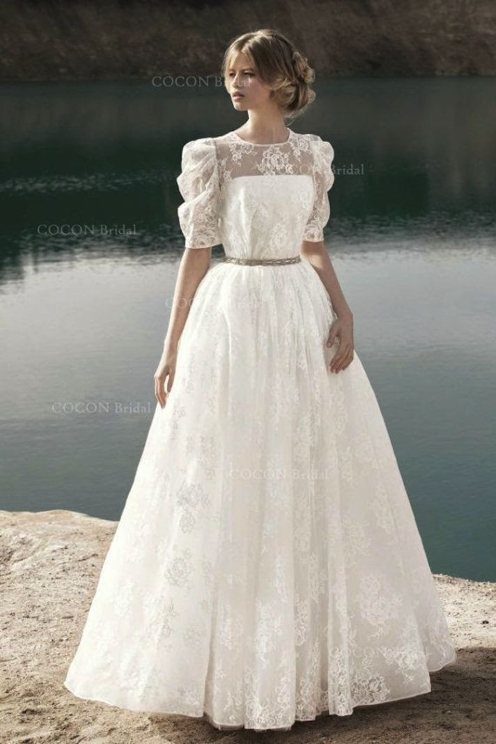 European Wedding Dress Designers 40 Popular Big Sleeve Cute Dress