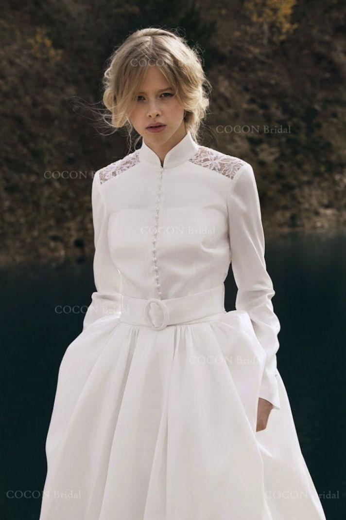 Indie Wedding Dresses 80 Inspirational Serious Long Sleeve Dress