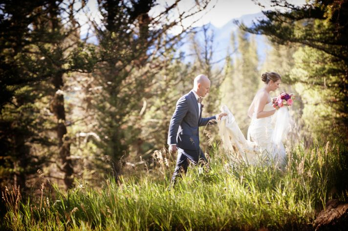 An Elegant Ranch Summer Wedding in Montana
