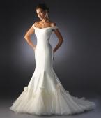 Свадебные платья фасон русалка.