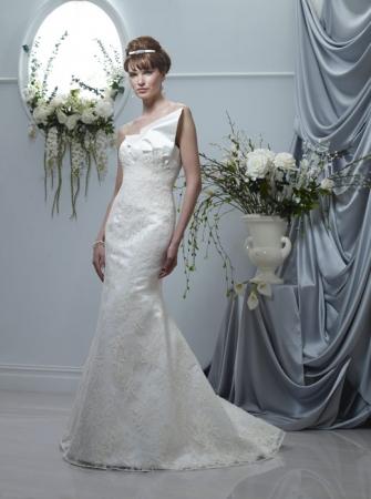 Birnbaum and Bullock Wedding Dress Style Sasha OneWed