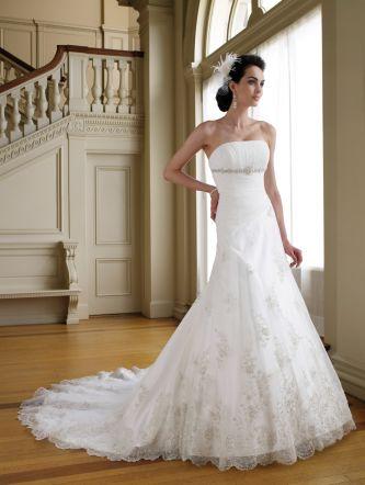David tutera for mon cheri wedding dress style 111204 for Mon cheri wedding dress prices